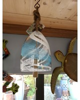 GARDEN ART & ACCESSORIES GLASS BELL WIND CHIME