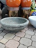 CAST STONE SMALL LOW BOWL PTR