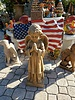 "CAST STONE 27"" CHOIR ANGEL"