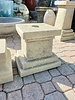"CAST STONE 14"" STACKED PEDESTAL"