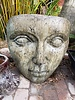 CAST STONE GIANT PORTRAIT OF MOTHER NATURE
