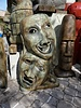 CAST STONE COMEDY AND TRAGEDY MASK