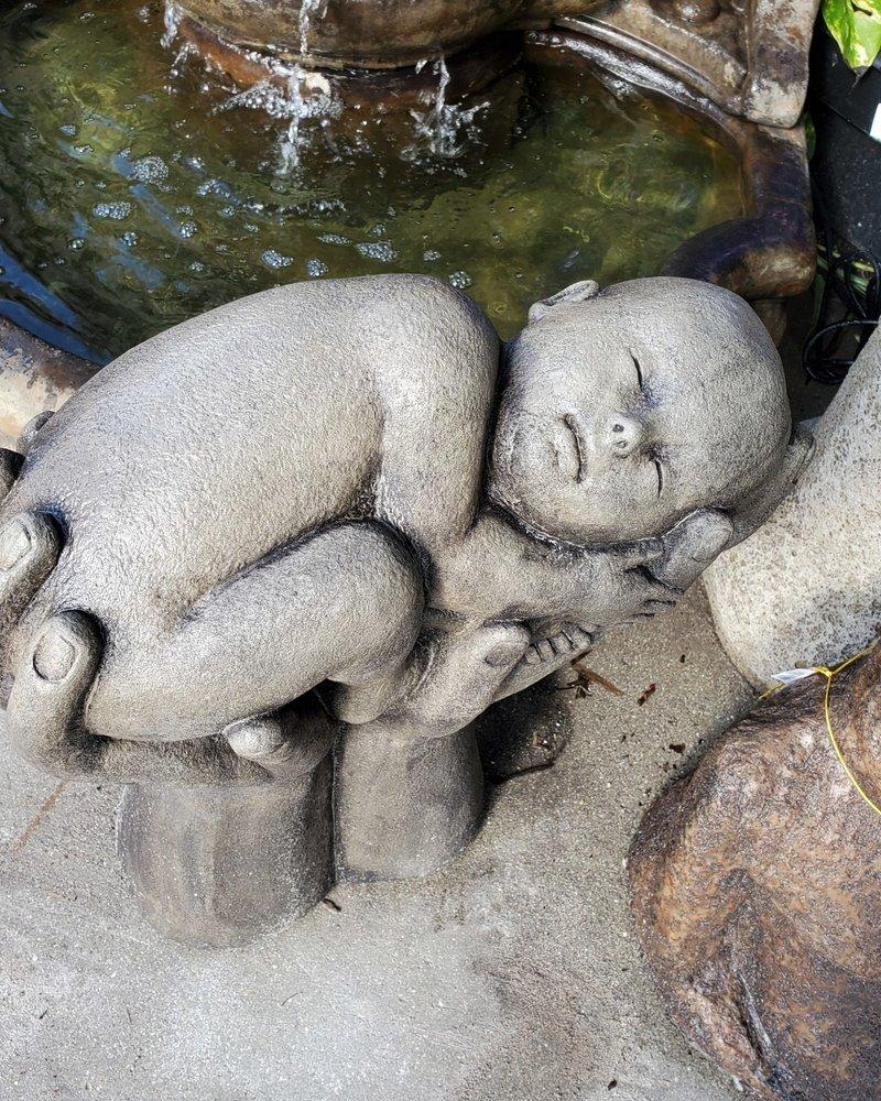 CAST STONE NATURES INFANT