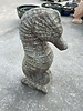 SCULPTURE SEA HORSE STATUE XL