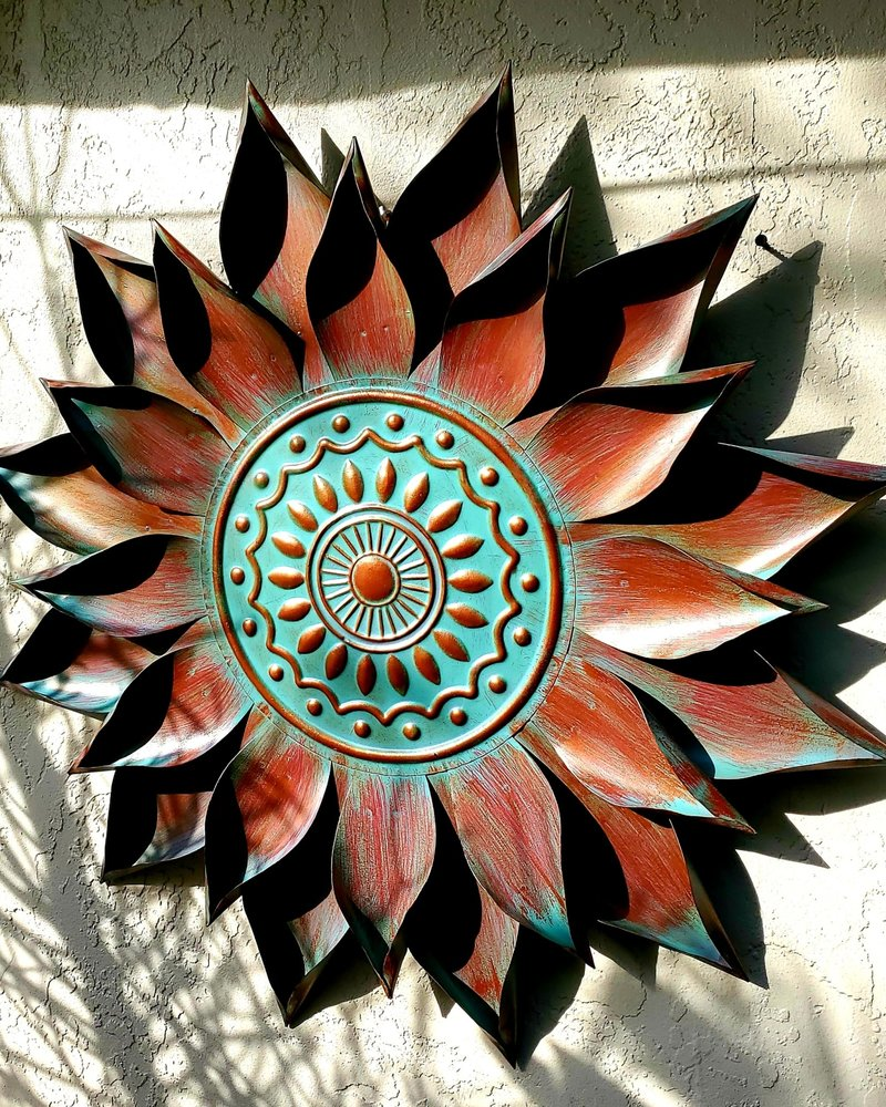 WALL ART PATINA BLOOM WALL DECOR 34
