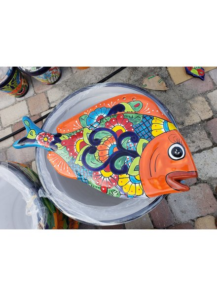 TALAVERA FLAT FISH WALL