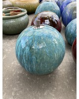 HIGH FIRED CERAMIC SPHERE OIL LAMPS MD