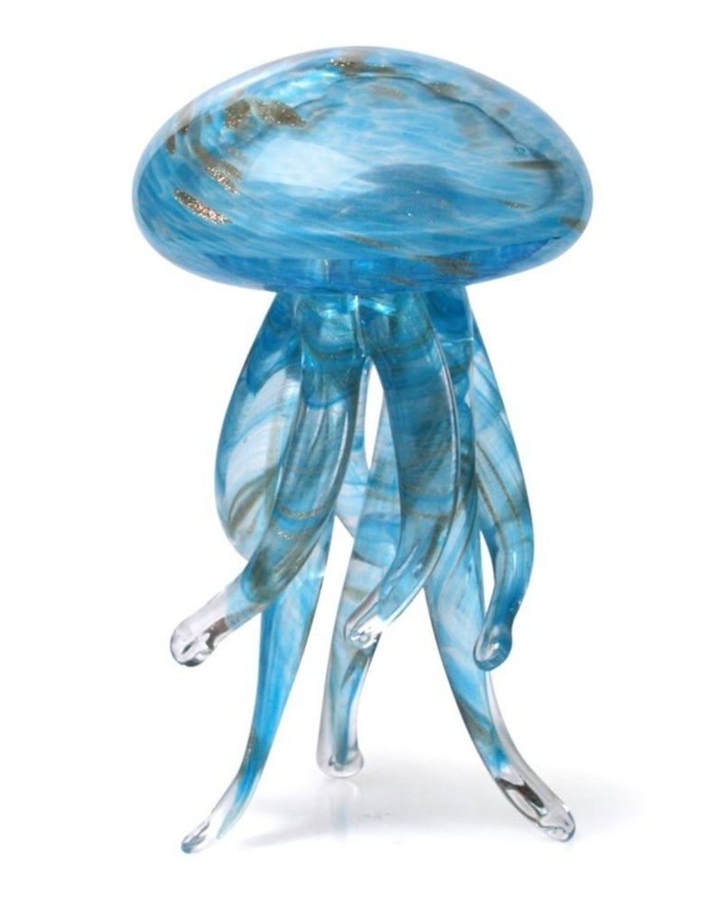 SCULPTURE GLASS WALKING JELLYFISH