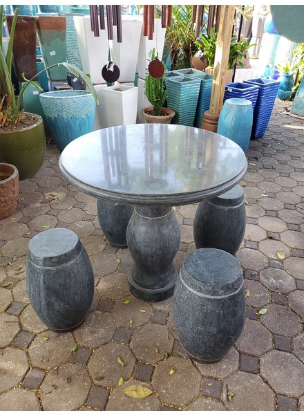 NATURAL STONE SOLID GRANITE JADE TABLE