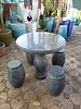 NATURAL STONE SOLID GRANITE JADE TABLE