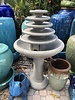 5 TIER GOZO FOUNTAIN ON PEDESTAL
