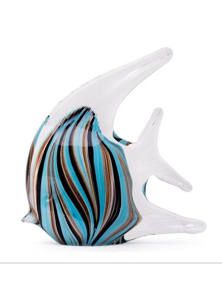 GARDEN ART & ACCESSORIES GLASS TROPICAL FISH