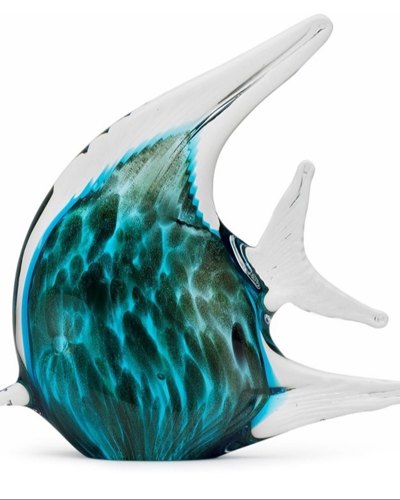 GARDEN ART & ACCESSORIES GLASS TROPICAL FISH
