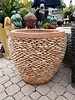 NATURAL STONE NAPLES PEBBLE PLANTER MD