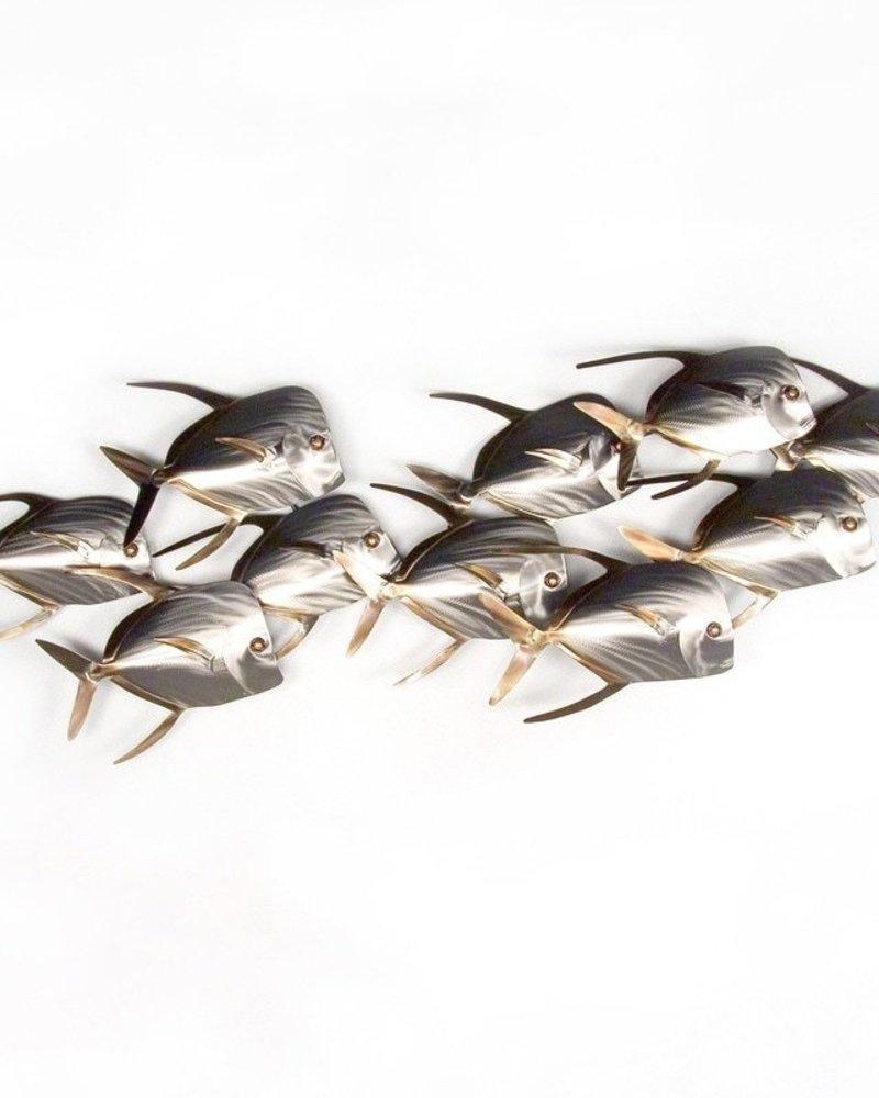 LOOKDOWN FISH SCHOOL SET OF 10