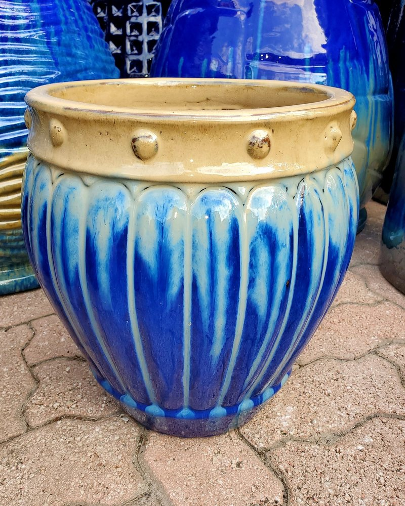 HIGH FIRED CERAMIC PREMIUM MELON PLANTER MD
