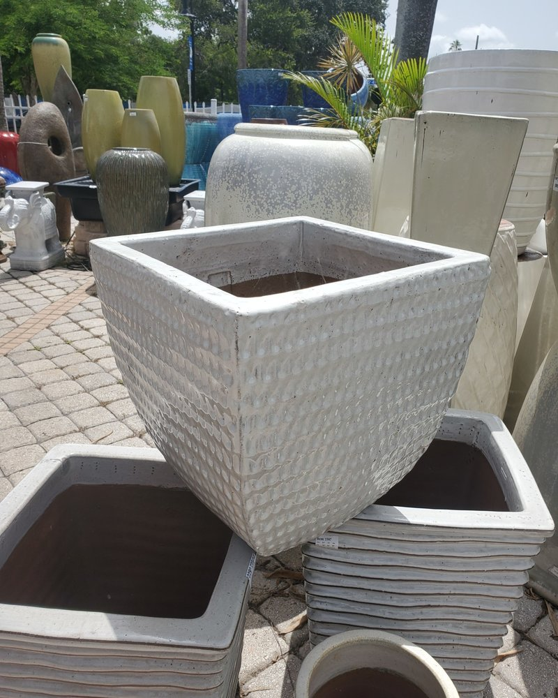 HIGH FIRED CERAMIC SQUARE WAFFLE MD