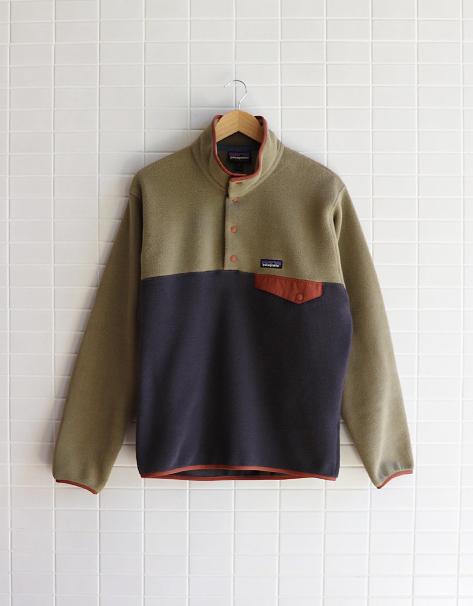 Patagonia - Men's Lightweight Synchilla Snap-T Fleece Pullover - Sage Khaki