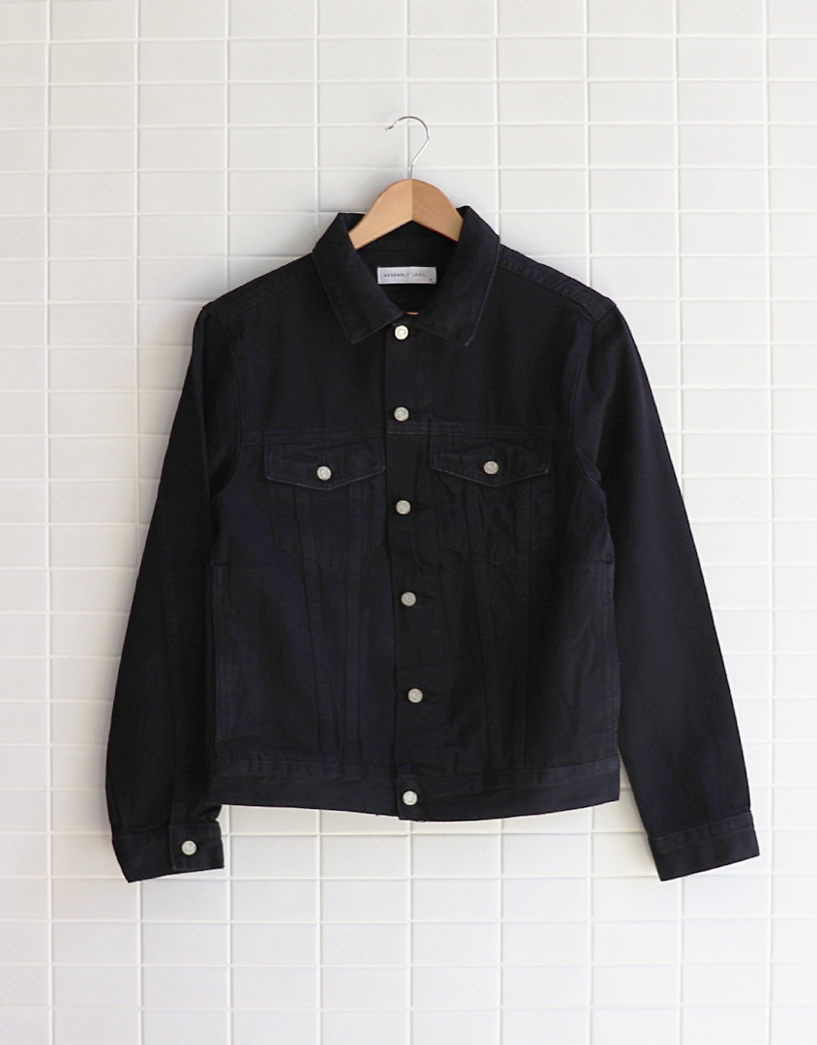 Assembly Label - Maicy Jacket - Black
