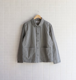 Assembly Label - Loan Jacket - Mineral Green