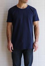 Naked & Famous - Circular Knit T-Shirt - Marine