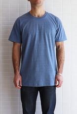 Naked & Famous - Circular Knit T-Shirt - Bleu Chiné