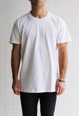 Naked & Famous - Circular Knit T-Shirt - Blanc