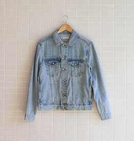 Assembly Label - Maicy Jacket - Pacific Blue