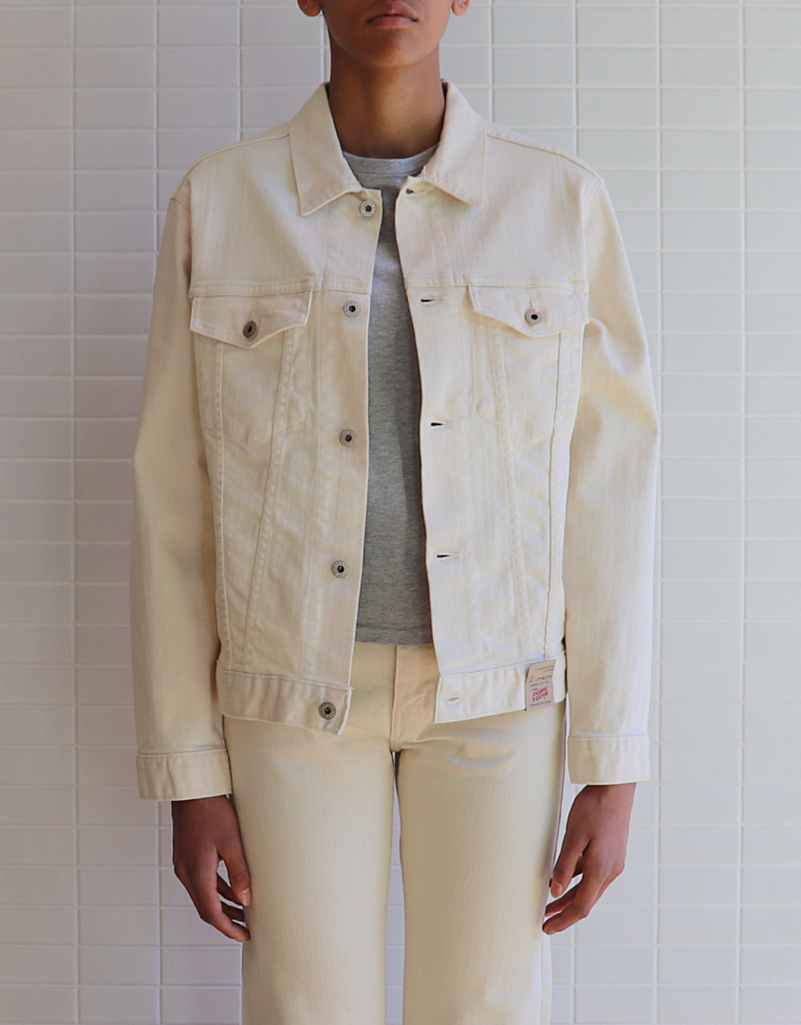 Naked and Famous - Denim Jacket - Natural Seed