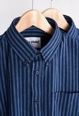 Bon Vivant - Gino Dobby Stripe - Navy/Light Blue - Taille S
