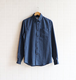 Bon Vivant - Gino Dobby Stripe - Navy/Light Blue - Taille S