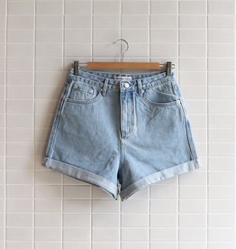 Assembly Label - Rolled Hem Short