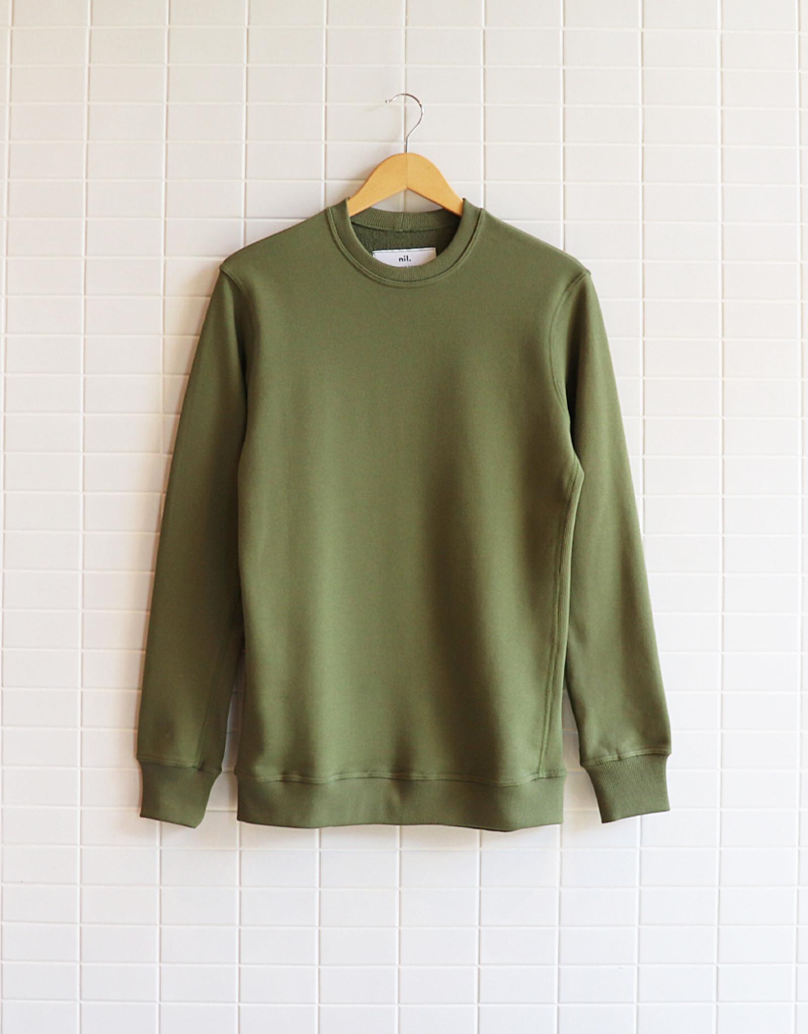 Nil - Sweatshirt Classique - Kaki