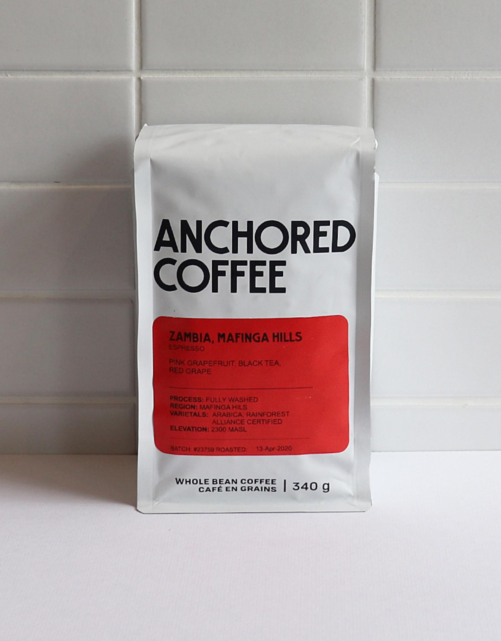 Café Anchored - Zambia Mafinga Hills - Espresso - 340g