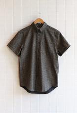 Naked & Famous - Short Sleeve Easy Shirt Kimono Scales - Indigo