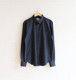 Naked & Famous - Easy Shirt - Kimono Plus - Navy - XL