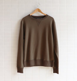 Naked & Famous - Crewneck - Hunter Terry - M