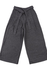 Naked & Famous - Wide Pant - Cotton Tweed Charcoal - Large