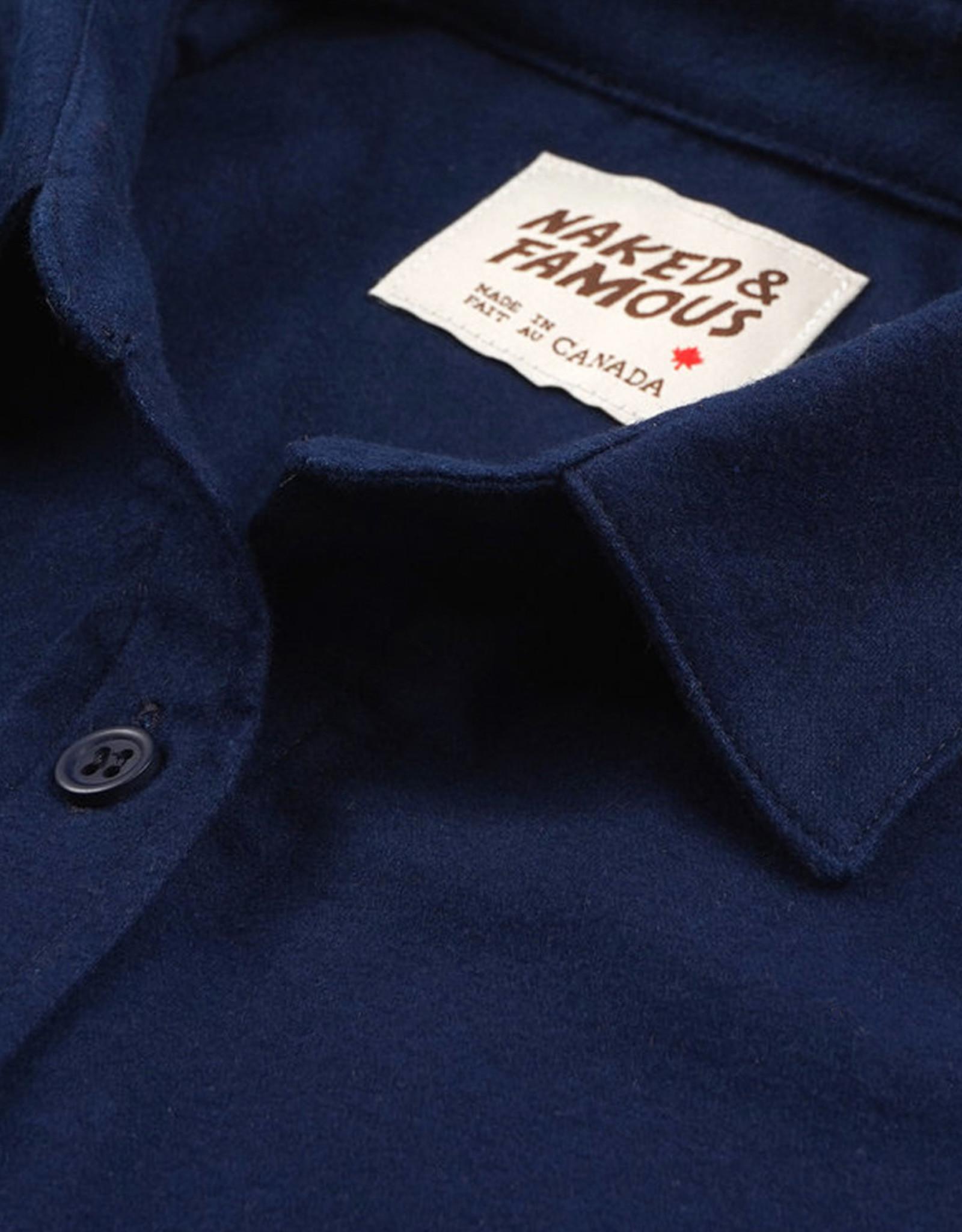 Naked & Famous - Country Shirt - Natural Indigo Dye