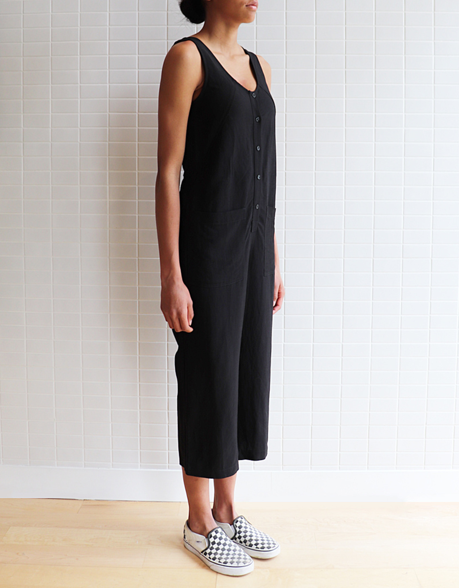 Eve Gravel - Jumpsuit Saint-Germain - Noir