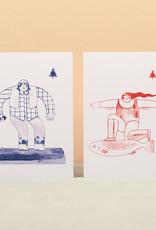 Florence Rivest - Print - Surfboy