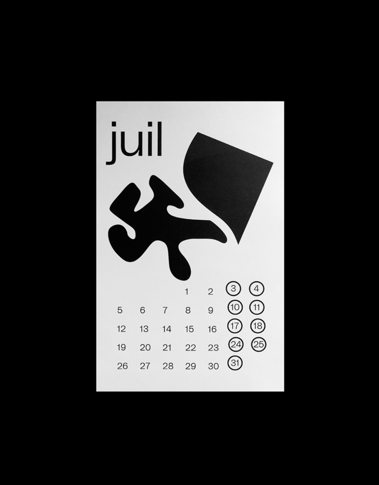 Calendrier - Hamie Robitaille