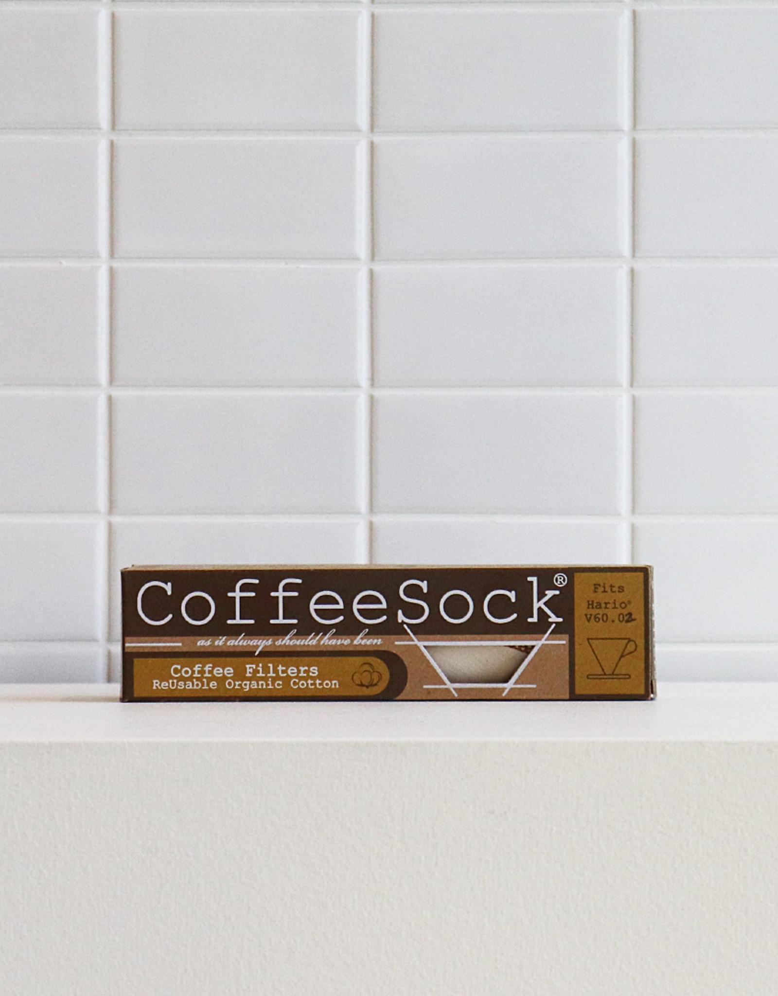 Hario - Coffeesock V60-02 - Filtres de Coton Réutilisables