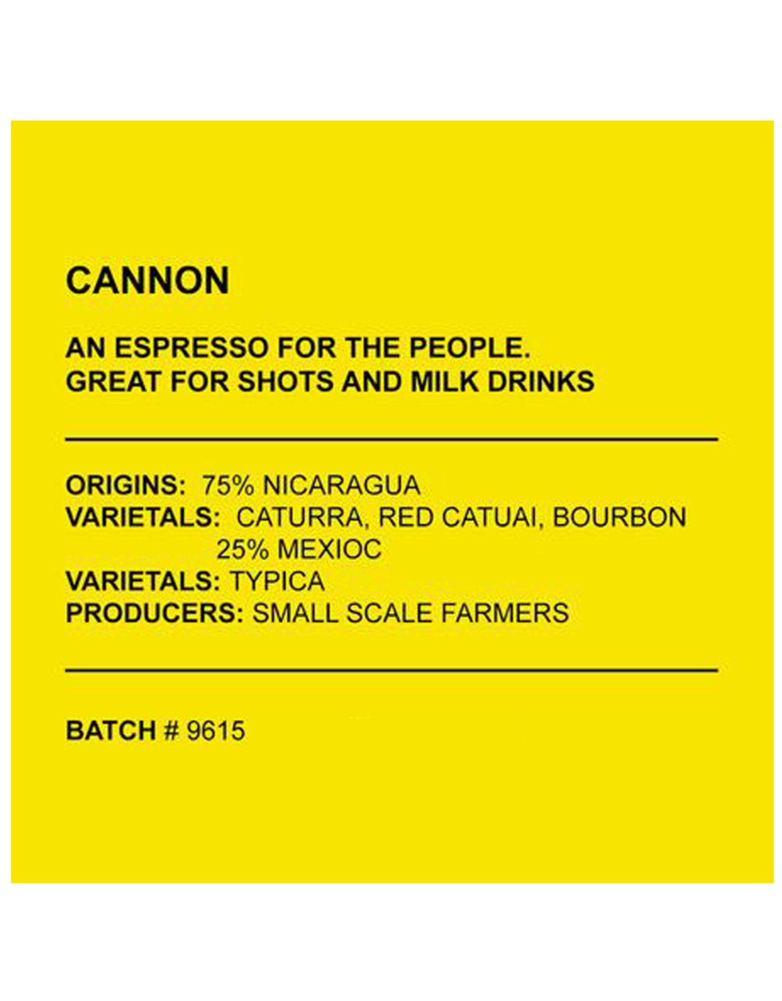 Café Anchored - Cannon - Espresso - 340g