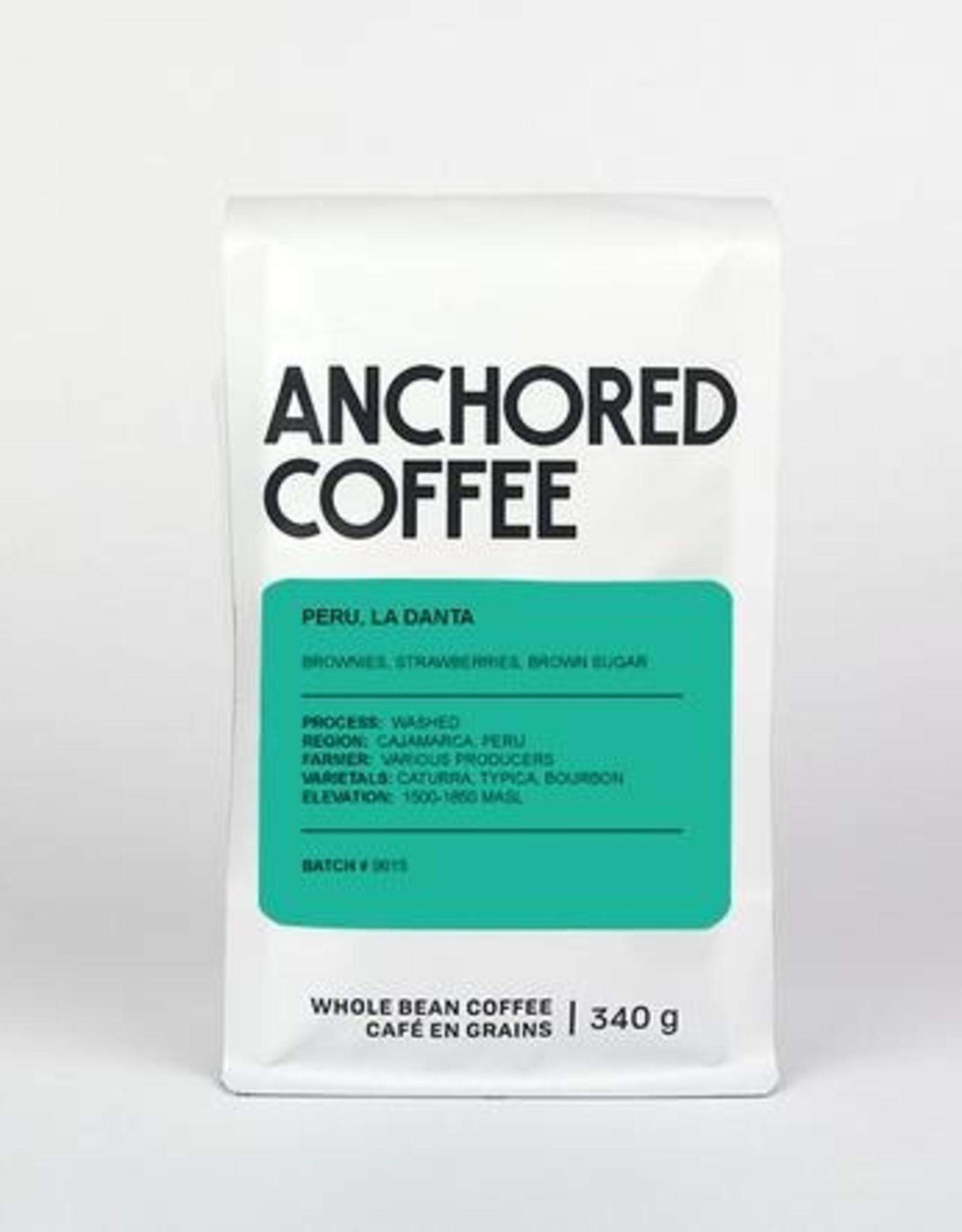Café Anchored - Peru, La Danta - Filter - 340g