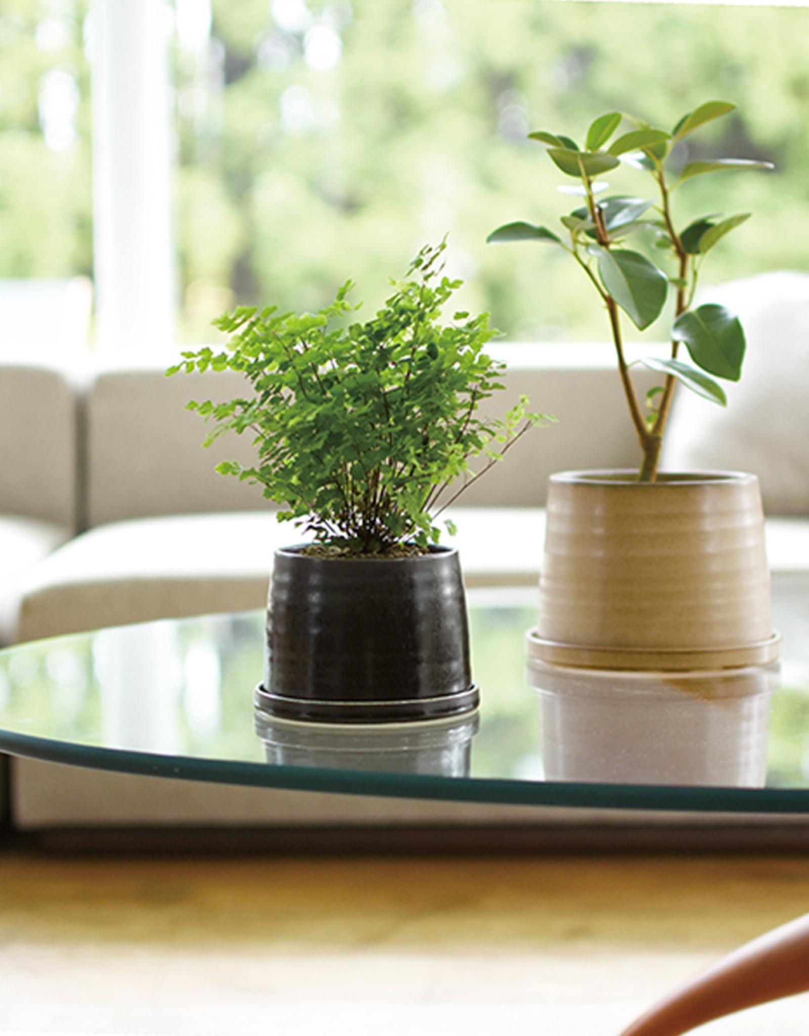 Kinto - Pot à plante 110 mm - Noir