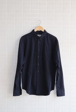 Naked & Famous N&F - Easy Shirt Dobby Dungaree Solid - Navy