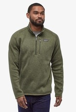 Patagonia - M's Better Sweater 1/4 Zip - Industrial Green