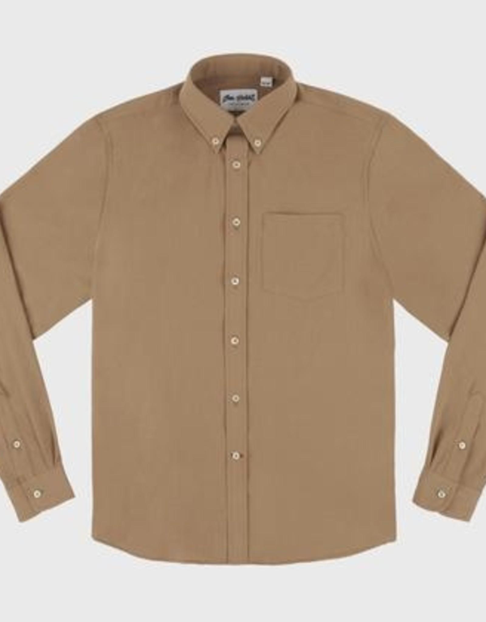 Bon Vivant - Gino Cotton Gauze Long Sleeves - Rust