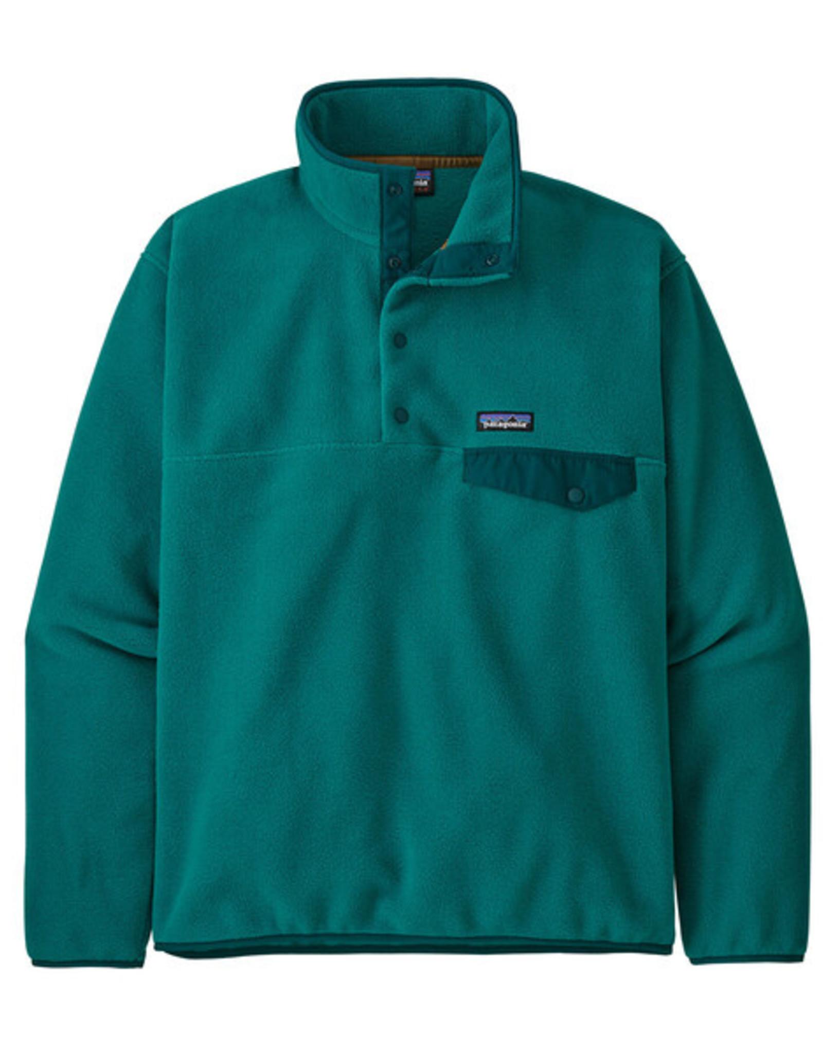 Patagonia - M's LW Synch Snap-T -  Borealis Green